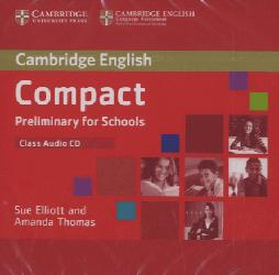 Dernières parutions dans Compact Preliminary for Schools, Compact Preliminary for Schools - Class Audio CD
