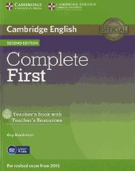 Dernières parutions dans Complete First, Complete First - Teacher's Book with Teacher's Resources CD-ROM