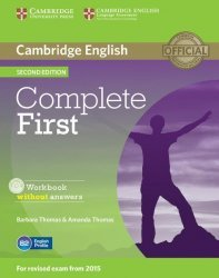 Dernières parutions dans Complete First, Complete First - Workbook without Answers with Audio CD