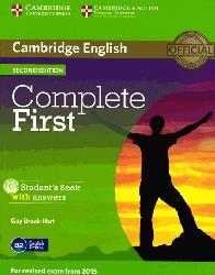 Dernières parutions dans Complete First, Complete First - Student's Book with Answers with CD-ROM
