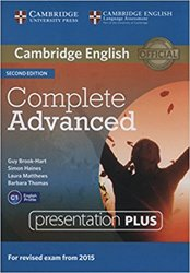 Dernières parutions dans Complete Advanced, Complete Advanced - Presentation Plus DVD-ROM