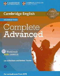 Dernières parutions dans Complete, Complete Advanced - Workbook with Answers with Audio CD