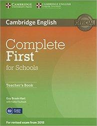 Dernières parutions dans Complete First for Schools, Complete First for Schools - Teacher's Book