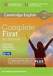 Dernières parutions dans Complete First for Schools, Complete First for Schools - Presentation Plus DVD-ROM
