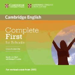 Dernières parutions dans Complete First for Schools, Complete First for Schools - Class Audio CDs (2)