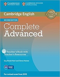Dernières parutions dans Complete Advanced, Complete Advanced - Teacher's Book with Teacher's Resources CD-ROM