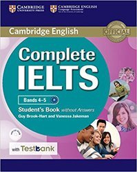 Dernières parutions dans Complete IELTS, Complete IELTS Bands 4–5 - Student's Book without Answers with CD-ROM with Testbank