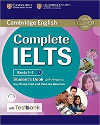 Dernières parutions dans Complete IELTS, Complete IELTS Bands 4–5 - Student's Book with Answers with CD-ROM with Testbank