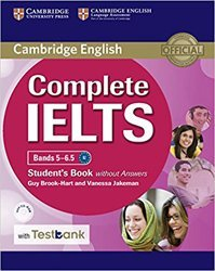 Dernières parutions dans Complete IELTS, Complete IELTS Bands 5–6.5 - Student's Book without Answers with CD-ROM with Testbank