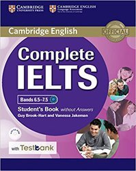 Dernières parutions dans Complete IELTS, Complete IELTS Bands 6.5–7.5 - Student's Book without Answers with CD-ROM with Testbank