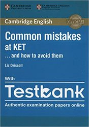 Dernières parutions sur KET, Common Mistakes at KET… and How to Avoid Them - Paperback with Testbank