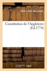 Dernières parutions sur Droit anglais, Constitution de l'Angleterre