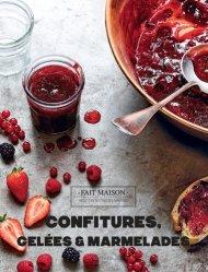 Dernières parutions sur Confitures et compotes, Confitures, gelées et marmelades
