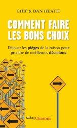 Dernières parutions dans Clés des Champs, Comment faire les bons choix