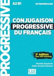 Dernières parutions dans Progressive du français, Conjugaison progressive du français intermédiaire