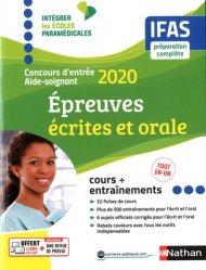 Dernières parutions sur Concours d'entrée AS - AP, Concours d'entrée aide-soignant ifas 2020