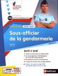 Dernières parutions dans Intégrer la fonction publique, Concours sous-officier de la gendarmerie. Edition 2020-2021