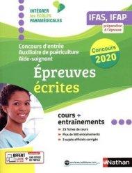 Dernières parutions sur Epreuve écrite, Concours d'entrée Auxiliaire puériculture Aide-soignant 2020