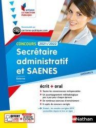 Dernières parutions dans Intégrer la fonction publique, Concours Secrétaire administratif et SAENES Catégorie B