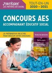 Dernières parutions dans J'intègre les métiers du social, Concours AES - Accompagnant éducatif social