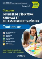 Dernières parutions sur Infirmières, Concours Infirmier de l'éducation nationale et de l'enseignement supérieur