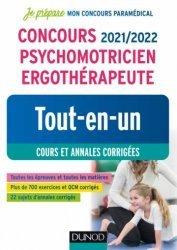 Dernières parutions sur Paramédical, Concours 2021/2022 Psychomotricien Ergothérapeute