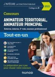 Dernières parutions dans J'intègre la Fonction Publique, Concours animateur territorial, animateur principal