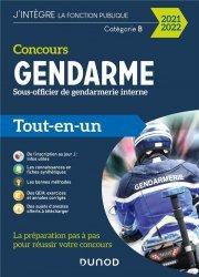 Dernières parutions sur Concours administratifs, Concours Sous-officier de la gendarmerie interne