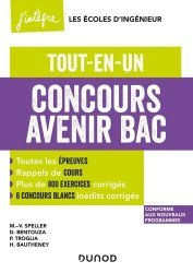 Dernières parutions sur Prépas - Écoles d'ingénieurs, Concours Avenir Bac