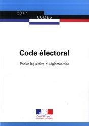 Dernières parutions sur Droit électoral, Code électoral. Parties législative et réglementaire