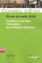Dernières parutions sur Politiques publiques, Conduire et partager l'évaluation des politiques publiques