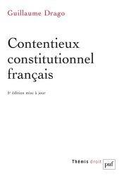 Dernières parutions dans Thémis, Contentieux constitutionnel français