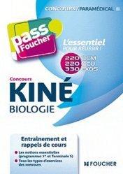 Souvent acheté avec Statistiques et probabilités pour les sciences de la vie et de la santé en 30 fiches, le Concours Kiné - Biologie