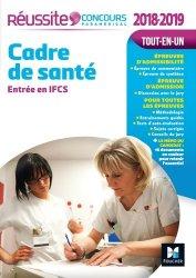 Concours Cadre de santé - Entrée en IFCS 2018-2019