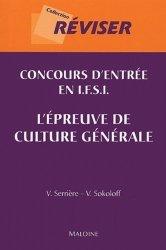 Souvent acheté avec Concours d'entrée en IFSI Thèmes et textes de culture générale, le Concours d'entrée en IFSI L'épreuve de culture générale