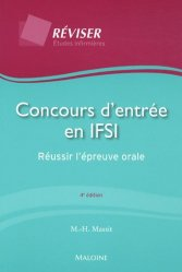 Souvent acheté avec Annales corrigées IFSI 2011, le Concours d'entrée en IFSI