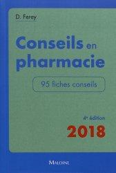 Dernières parutions sur Conseil à l'officine, Conseils en pharmacie
