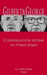 Dernières parutions dans Les cahiers rouges, Conversations intimes avec François Jonquet