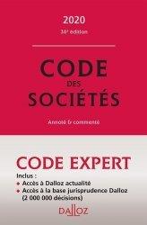 Dernières parutions dans Codes Dalloz Professionnels, Code des sociétés. Annoté et commenté