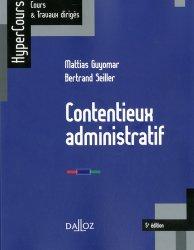 Dernières parutions dans HyperCours, Contentieux administratif. Edition 2019