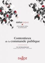 Dernières parutions dans Dalloz corpus, Contentieux de la commande publique