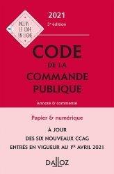 Nouvelle édition Code de la commande publique