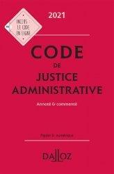 Dernières parutions sur Droit administratif général, Code de justice administrative