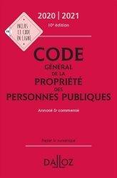 Dernières parutions dans Codes Dalloz, Code Général de la propriété des personnes publiques