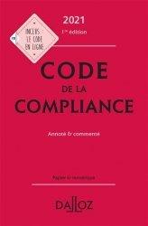 Dernières parutions dans Codes Dalloz, Code de la compliance