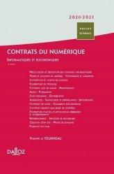 Dernières parutions dans Dalloz référence, Contrats du numérique 2020/21. Informatiques et électroniques, 11e édition