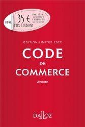 Nouvelle édition Code de commerce 2022