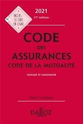 Nouvelle édition Code des assurances, code de la mutualité