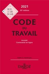 Dernières parutions dans Codes Dalloz, Code du travail
