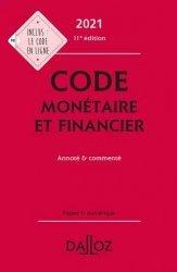 Dernières parutions dans Codes Dalloz Professionnels, Code monétaire et financier 2021
